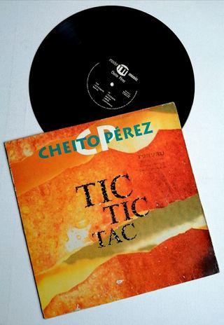 CHEITO PÉREZ Disco vinilo