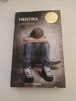 Libro Premio Literatura Juvenil - Mentira
