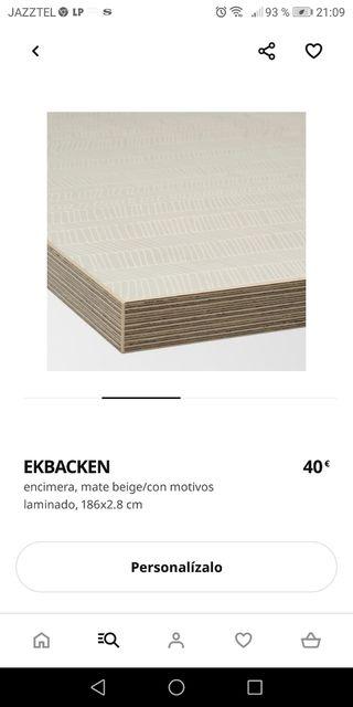 Encimera de Ikea