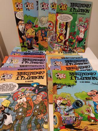 24 comics Mortadelo y Filemon