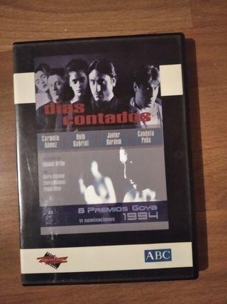 días contados dvd