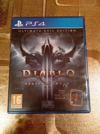 DIABLO III REAPER OF SOULS PS4