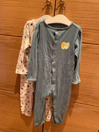 Pijama pelele nuevo bebé 86-92