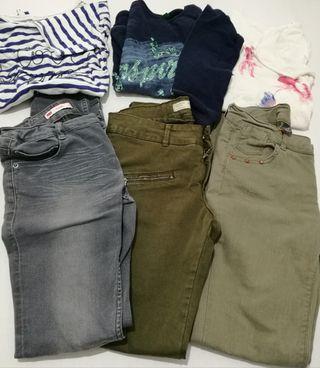 Pantalón y camiseta