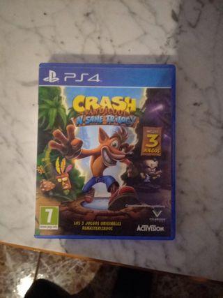 Juego de ps4 Crash Bandicoot nsane trylogy