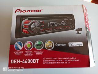 RADIO COCHE PIONEER DEH-4600BT