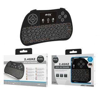 Mini teclado inalambrico con touchpad