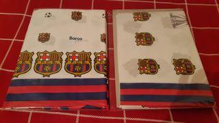 Juego Sábanas Barça 90 cm
