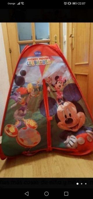 tienda de campaña mickey mouse