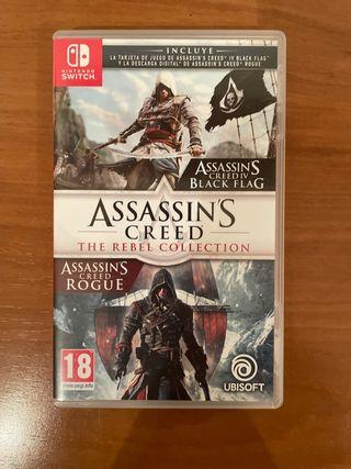 Juego de Assassin's Creed para Nintendo switch