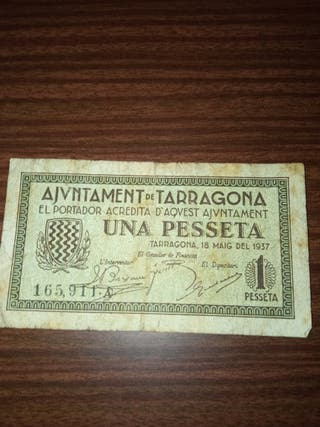 billete TARRAGONA