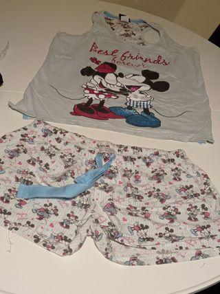 Pijama de verano de Mickey/Minnie Mouse
