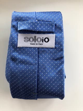 Corbata de seda marca Soloio