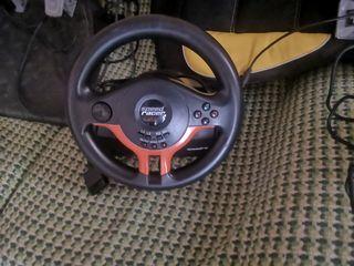 volante de l marca speed racer para pc