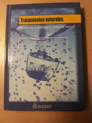 Libro Tratamientos naturales, ediciones Aupper