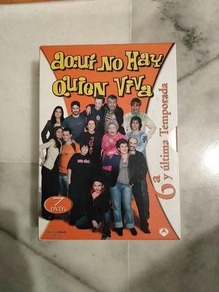 Aquí no hay quien viva - Temporada 6 - DVD