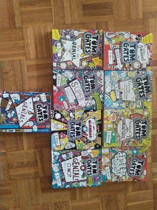 Colección libros Tom Gates en catalan