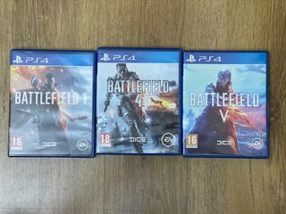 Pack Battlefield 1,4 y 5 ps4
