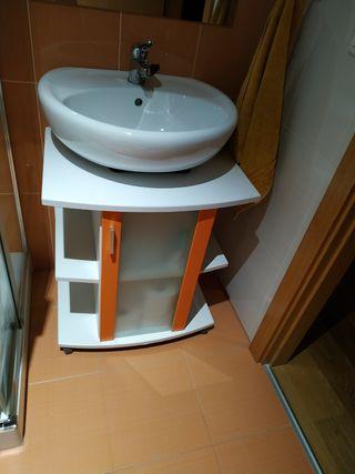 mueble lavabo auxiliar