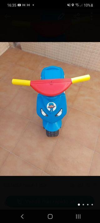 moto de niños