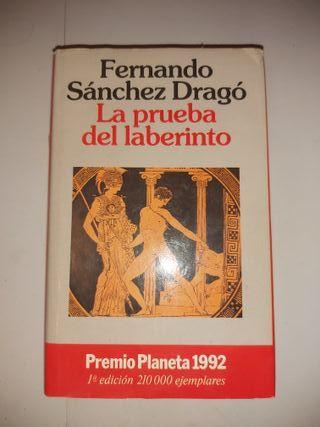 Libro La prueba del laberinto, Fernando Sánchez