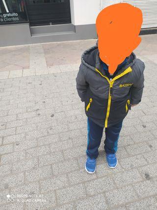 abrigo niño Batman 2/3años