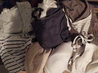 camisetas y sujetadores para dar de mamar