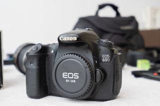 Canon 60D + objetivo Canon 50mm f1.8