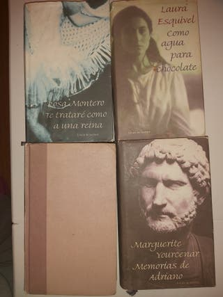 Lote de 4 libros Ellas cuentan,Círculo de lectores