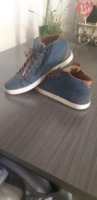 Zapatillas con cremallera