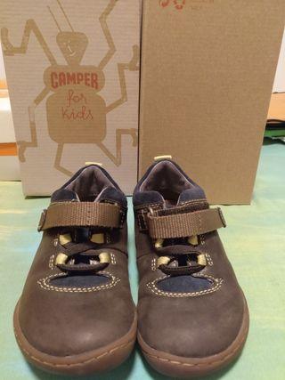 Zapatos niño camper 24