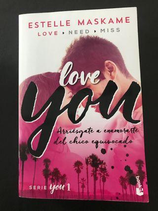 Libro Love you - a partir de 14 años