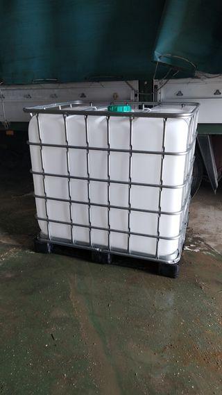 deposito de plástico 1.000 litros
