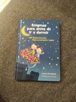 "Libro ""Enigmas para antes de ir a dormir"""