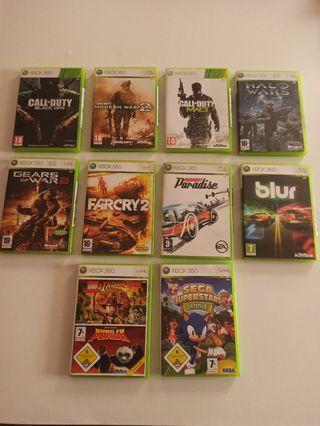 Xbox 360 Elite + 11 juegos