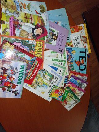 Lote 19 libros lectura infantil