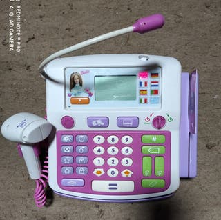 Caja registradora Barbie.