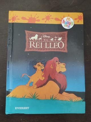 librito del rey león en catalán vendo o cambio .