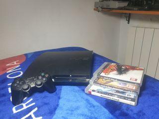 ps3 + juegos + mando