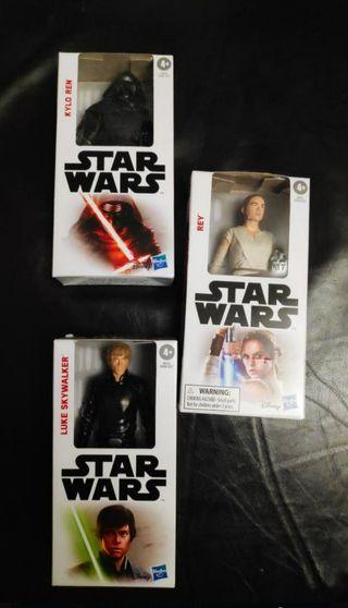 Figuras Star Wars PRECINTADAS