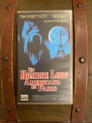 Un hombre lobo americano en París en VHS