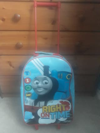 Thomas the tank engine pull along suitcase