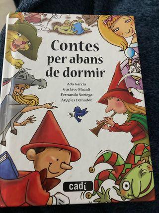 Libro Contes per abans de dormir