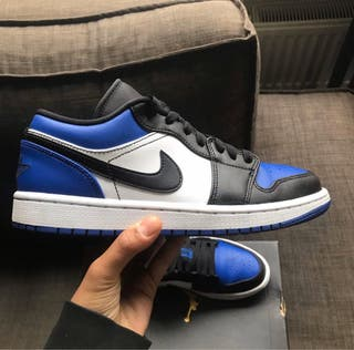 Jordan's 1 low royal toe
