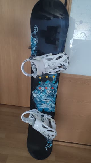 Tabla De Snowboard Burton De Segunda Mano En Wallapop