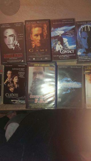 9 peliculas VHS originales