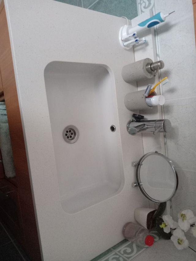 Moble cuarto de Baño mas pica y griferia de segunda mano ...