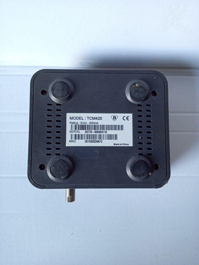 Digital tcm420 thomson broadband onko nettini