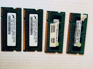 RAM DDR2 Y DDR 333 portatiles