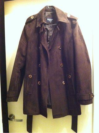 Manteau en daim